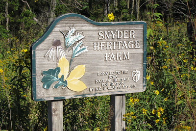 Snyder Heritage Farm in Polk County. A Iowa Heritage Foundation property.
