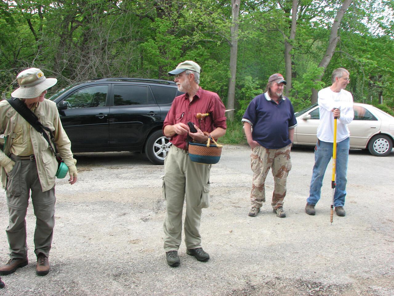 Bob, Roger, Brett, and Marty.