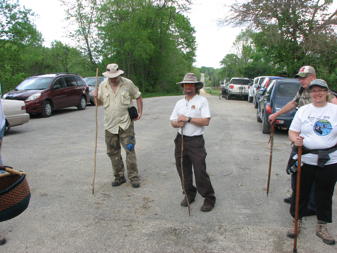 A few of the participants at the Wickiup foray.