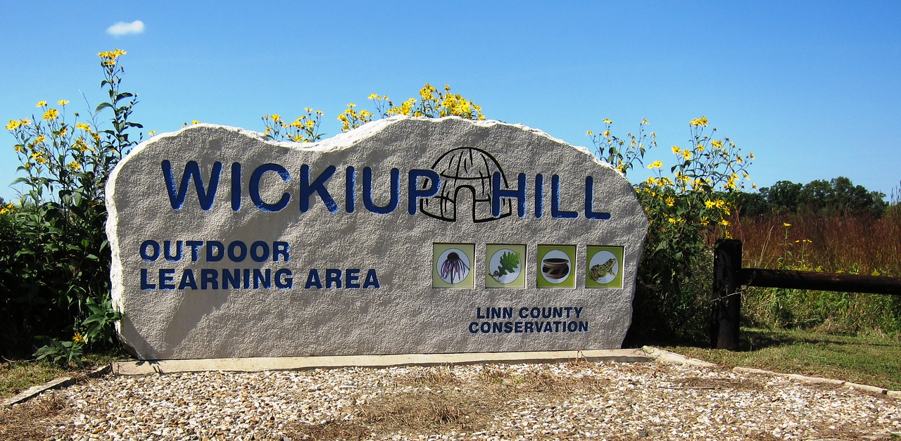 The entrance to Wickiup Hill Outdoor Learning Area (WHOLA)