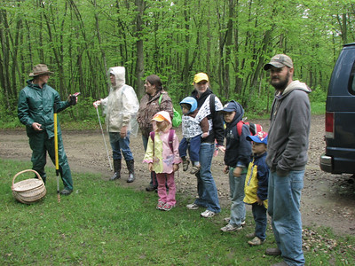 Before the foray...what a good looking group of shroomers.