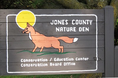Sign near the nature center.