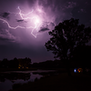 Storm over Buffalo County Lake