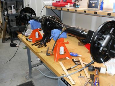New brakes, seals, bearings, brake lines.