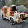 Got a parts van today, very rusty, but a lot of chassis gear and a 200 block.