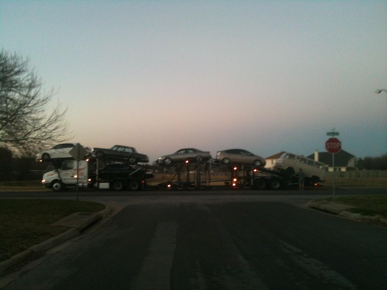 Arrival from AZ