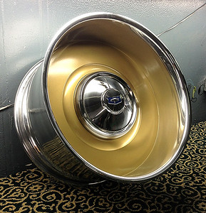 "Delmo Wheels.  2 piece billet aluminum, made to any backspace, offset, and diameter up to 24""."