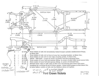 Crown Vic Dimensions