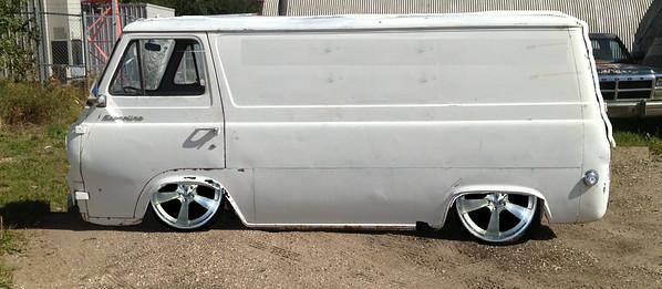 Photoshopped drop, wheels and window delete