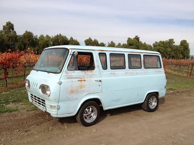 """""""Full Tilt Boogie"""" 61 Econo Window Van"""