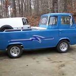 Larry's  67 - 5 window Econoline truck