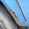 Right fender rust