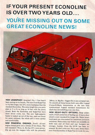 Old Van Ads and Pictures