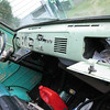 Day 1.  Unmolested dash and glovebox!  Pale green seems to be original colour as ordered by military.