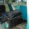 Day 1.  Big doghouse, original Econoline seats.