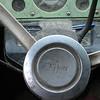 Day 1.  White steering wheel, cracked PRNDL indicator.