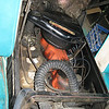 Day 1.  240 Big Six.  Engine has noisy lifters or something... heater hose is routed up top, previous fix for heater leak.