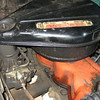 Day 1.  240 Big Six, air cleaner label.  Valve cover is Ford Red, but Pushrod cover is Ford Blue... hmm...