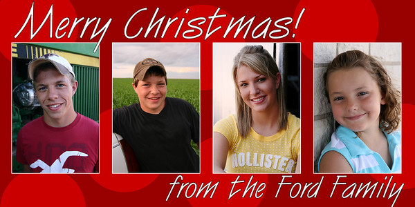 Ford Christmas Cards