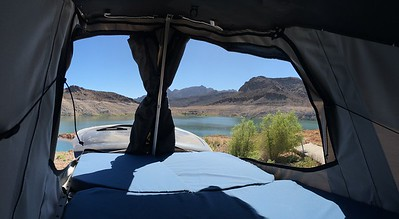 Camper Loft Bed View