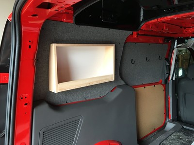Rear Quarter Liner with Book Shelf