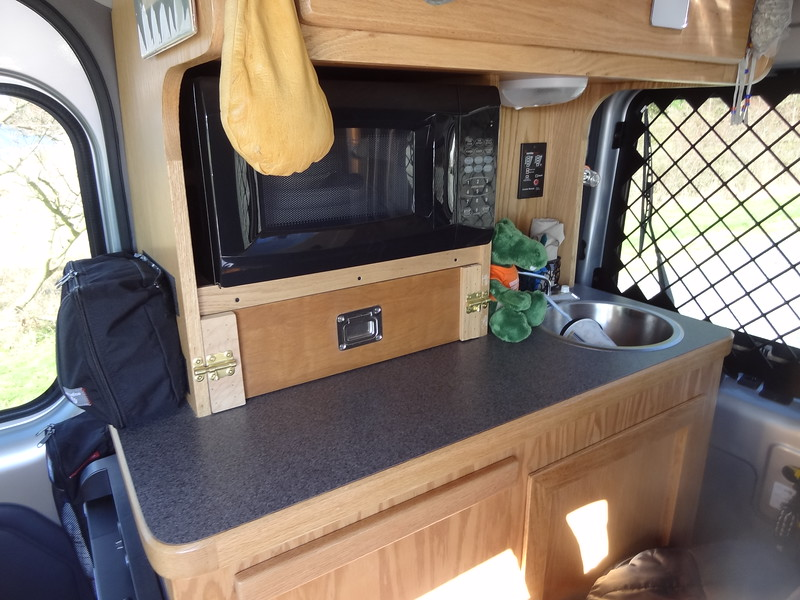 Ford Transit Connect Camper Conversion Alaskandave