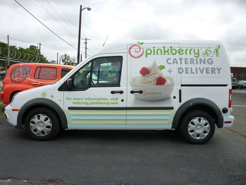 Pinkberry, Transit Connect, Grapevine, TX