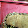 What I thought was rust through on the bedsides turned out to be holes burned by the welder.