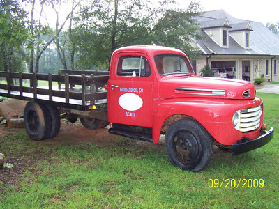 'EDITH' Joe's 1950 Ford F5 Stake truck