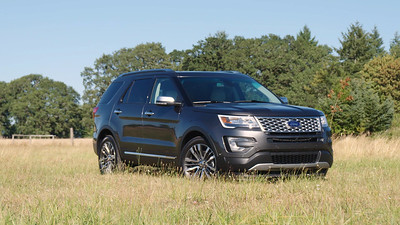 2016 Ford Explorer Platinum Reel