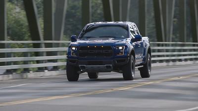2017 Ford F-150 Raptor Driving Reel