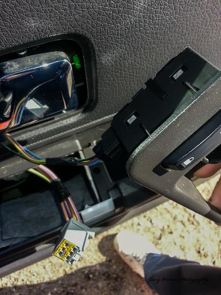 Door lock plug.