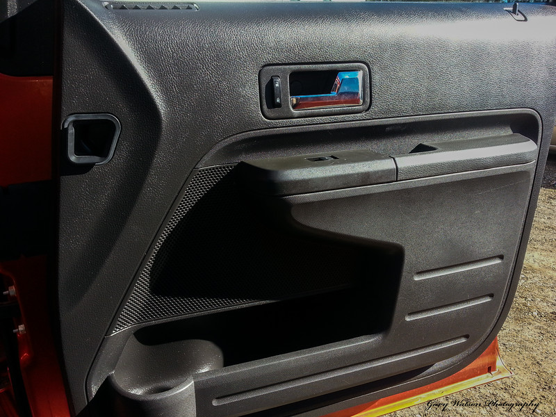 The passenger door panel. Install on the driver's side is the same <br /> except for the seat memory controls