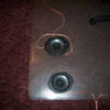 """Front view of aftermarket speakers installed in speaker adapters from  <a href=""""http://www.car-speaker-adapters.com"""">http://www.car-speaker-adapters.com</a>"""