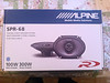 Alpine SPR-68 speakers to be installed