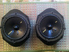 "Aftermarket 6 1/2"" speakers mounted to speaker adapters from  <a href=""http://www.car-speaker-adapters.com/items.php?id=SAK006""> Car-Speaker-Adapters.com</a>"