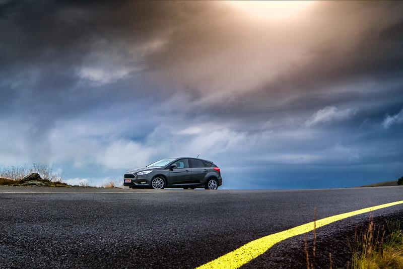 Ford Focus, foto de David Ovidiu, fotograf profesionist.