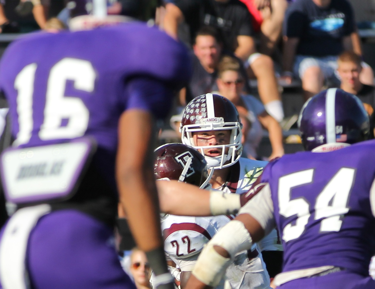 Fordham @ Holy Cross 45-16 Win 2014 400