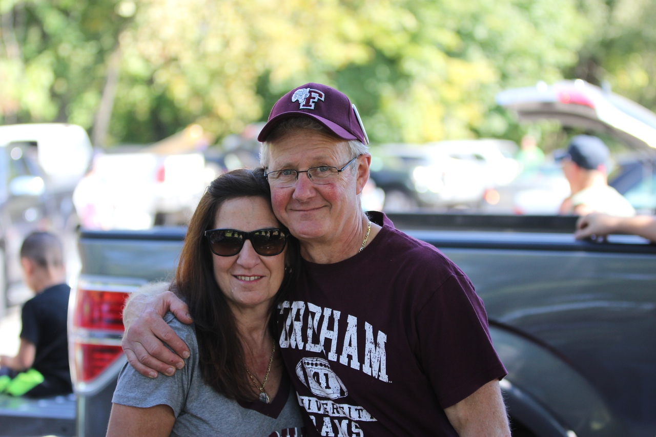 Fordham @ Holy Cross Tailgate 2014 22