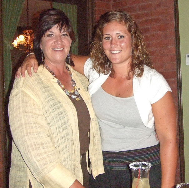 MWGA Fore State Director Stephany Powell with Katrina Choate, a senior at Drury University.