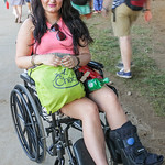 Arielle Hawman broke her foot at Bonaroo, but still wouldn\'t miss Forecastle.