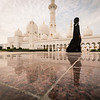 Visions of beauty- Grand Mosque, Abu Dhabi.
