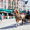Carriage ride in Bruges
