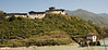 Wangdue Phodrang - A view of the Dzong from the river.