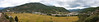 Paro Valley - Rinpung Dzong is to your left.  The only airport in Bhutan is to your right.