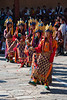 Wangdue Phodrang - I guess this is what they call line dancing.