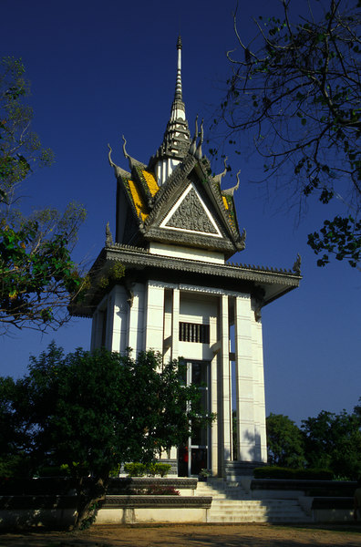 Phnom Penh<br /> Killing Fields memorial at Choeung Ek