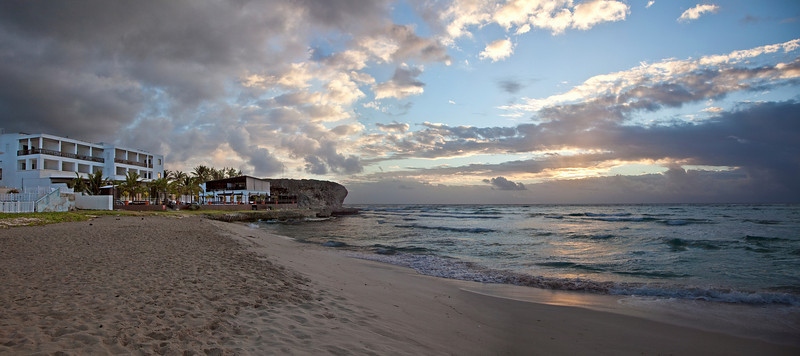 Sunrise Pan of SilverPoint Hotel and Beach Silverpoint