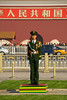 Beijing - Tiananmen Square - On guard.