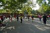 Beijing - Dancing in Jing Shan Park.